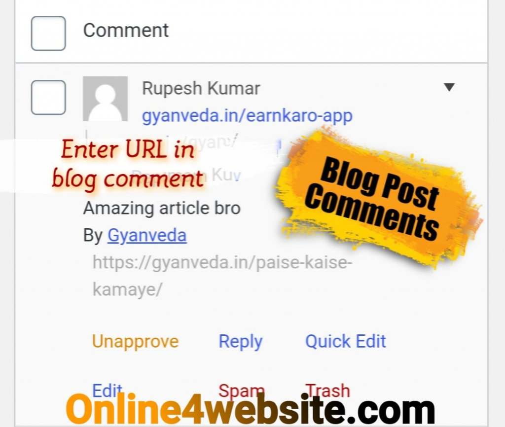 blog post comment off Page SEO kya hai in hindi